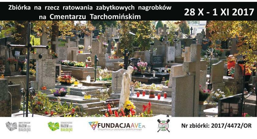 Historia, Ratujemy białołęckie nagrobki Zbiórka rusza jutro - zdjęcie, fotografia