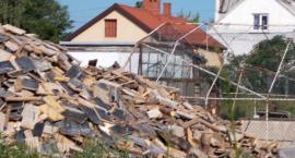 Składowisko gruzu i gabarytów przy Czeremchowej w końcu sprzątnięte